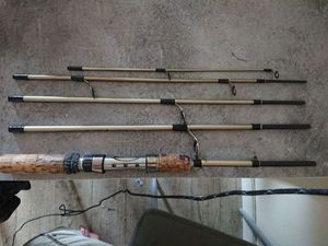 Rods Grauvell teknos travel spin 1800