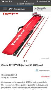 Rods Tenryu Tenryu Injection Sp 73 Travel