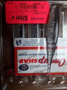 """Lures Sawamura One up slim 4"""" color 65"""