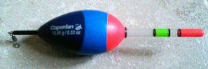Caperlan Flotteur lumineux 15 gr, (bâtonnets 2.9 x 50 mm (CFL4))
