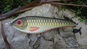 Lures CWC buster jerk olive