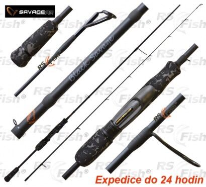 BLACK SAVAGE 220CM 20-60GR