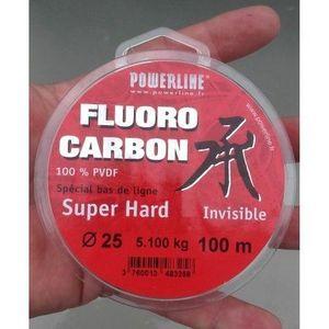 Powerline fluorocarbon super hard 0.25%
