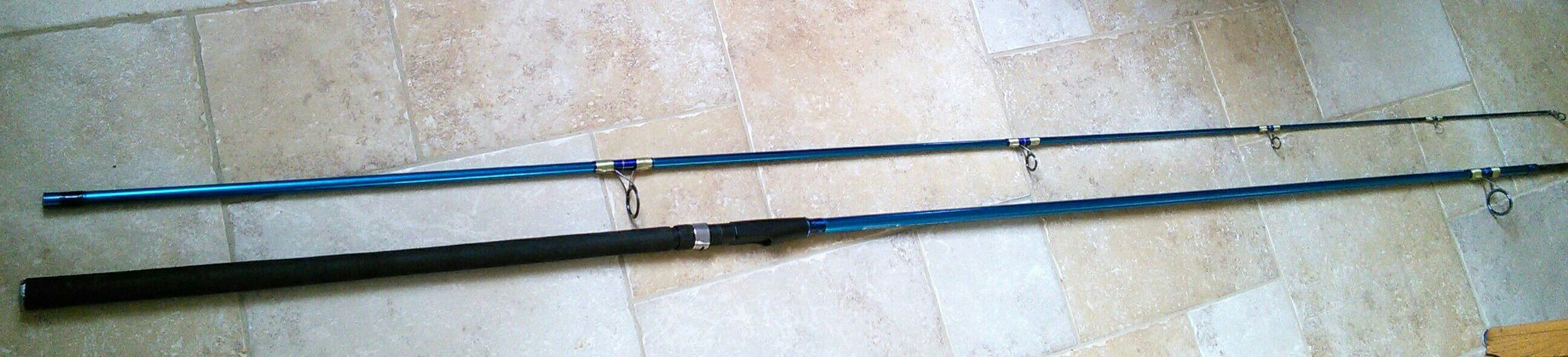 Pezon & Michel Reef Bull Cast (bulrag, bulle d'eau, flotteur) (bleue) (3.9 m)