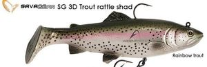 Savage Gear Sg 3D Trout Rattle Shad