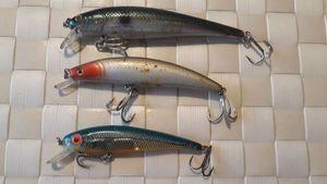 Lures Pecheur.com Bomber minnow floating 9 cm coloris bleu et orange