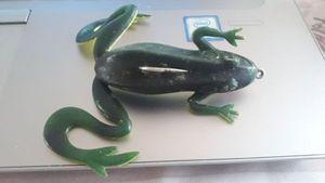 Lures null grenouille 8cm texan non plombé