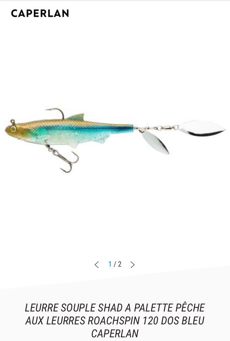 SHAD A PALETTE ROACHSPIN 120 MM