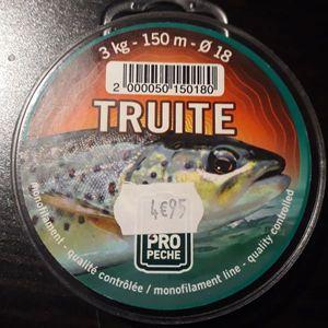 PROPECHE TRUITE NYLON 18/100 3KG