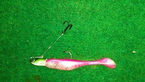 Bass Assassin leurre Bass assassin 7,5 cm turbo shad rose