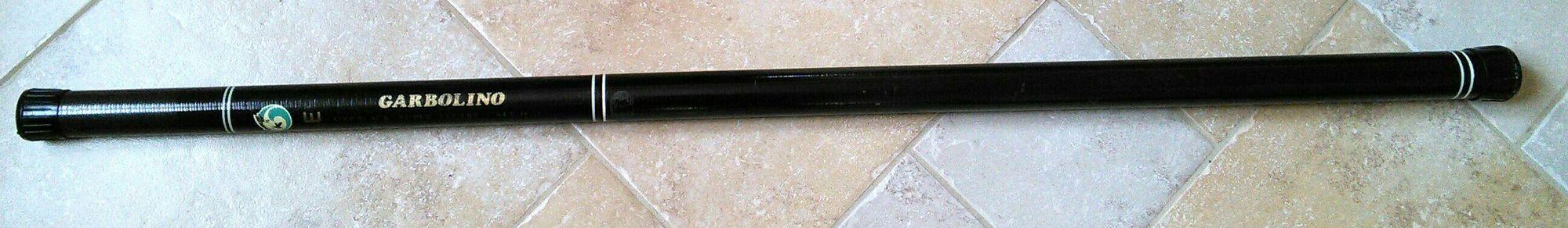 Garbolino Gardblack super légère SLV 11.53 (au coup roubaisien) noire. (5.3/6 m)