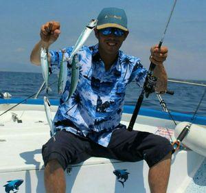 Mackerel — Samuel Elgrishi Moniteur et Guide de pêche