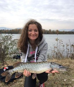 Northern Pike — Marie-Rose Perret (Thrill Lures)