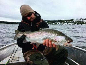 Rainbow Trout — Guillaume Martinez moniteur guide de pêche