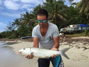 Poisson Banane (Bonefish) — Septi Pêche Méditerranée