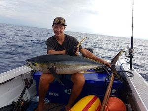 Yellowfin Tuna — Tom Legros
