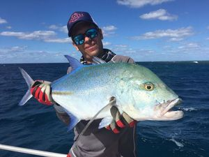 Bluefin Trevally — Julien Perol