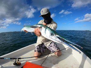 Garfish — Guillaume Martinez moniteur guide de pêche