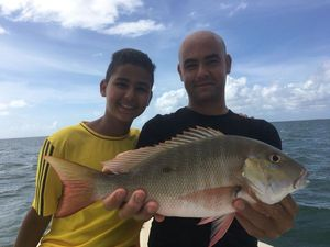 Mutton Snapper — Anthony guide pêche Guadeloupe