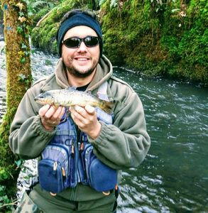 Brown Trout — Manu Roux