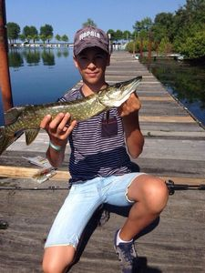 Northern Pike — Nolann Soun