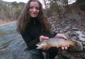 Brown Trout — Marie-Rose Perret (Thrill Lures)