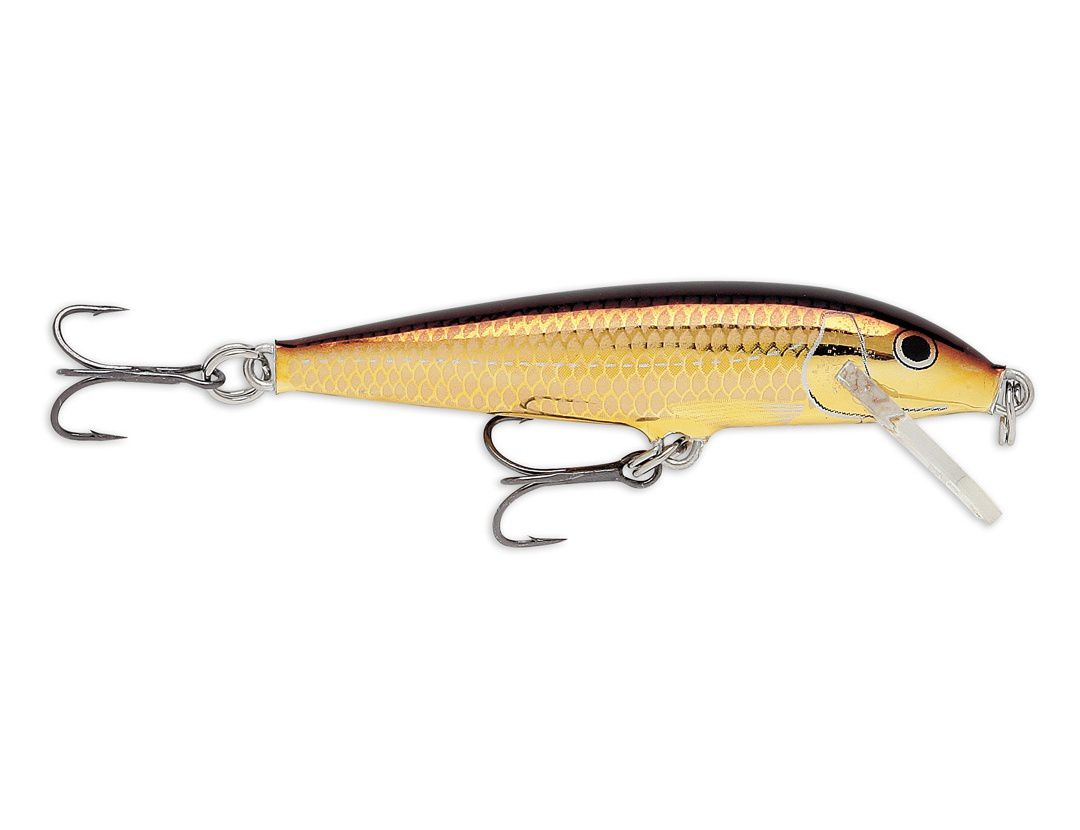 Lures Rapala ORIGINAL FLOATER F09 GOLD ALBURNUS