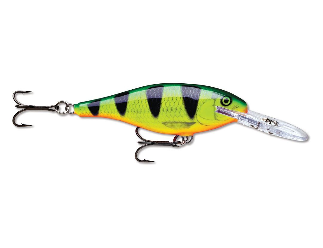Lures Rapala SHAD RAP SR09 FIRE PERCH