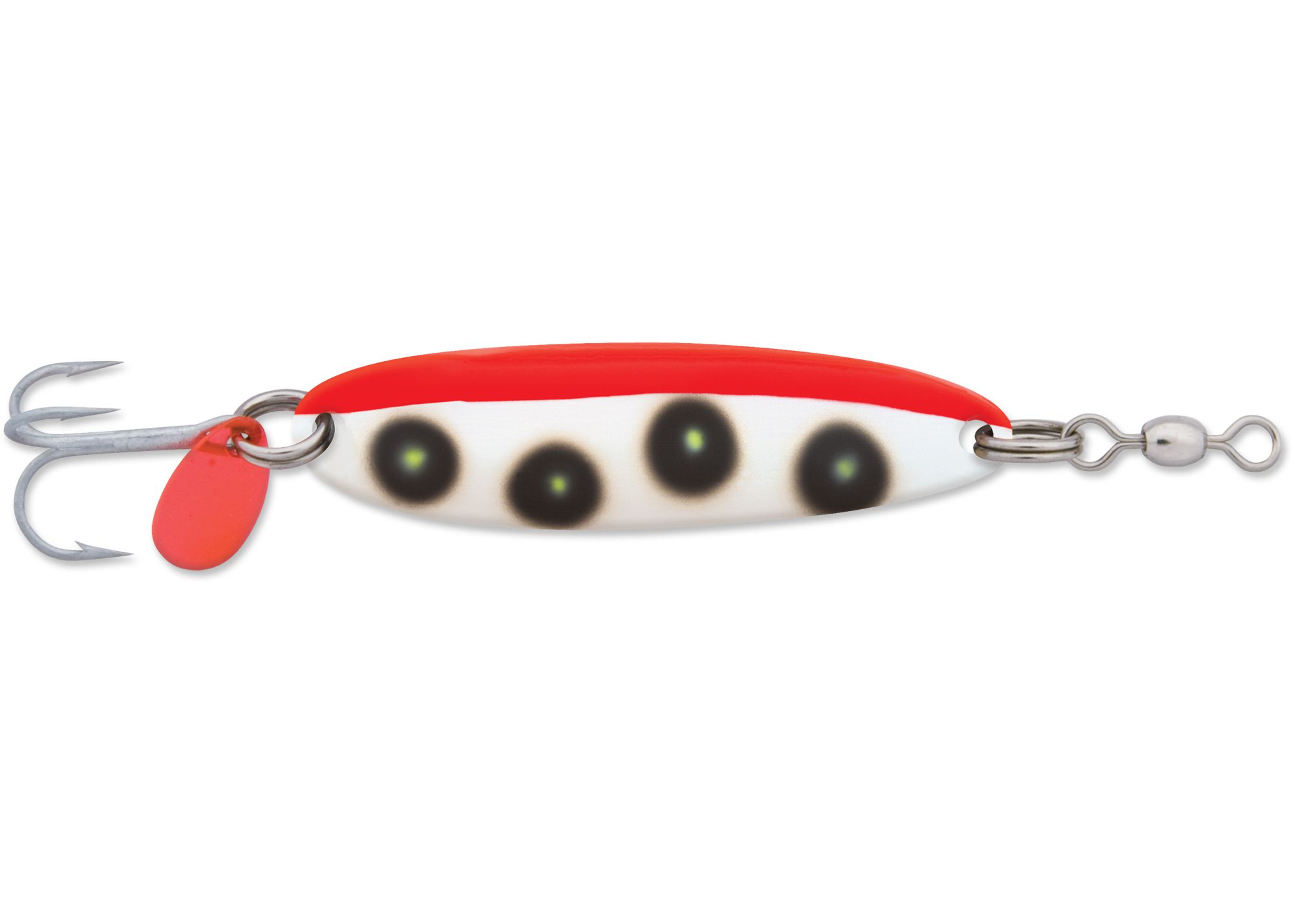 Leurres Luhr Jensen KROCODILE 1003-214 FLUORESCENT RED/CHARTREUSE UV