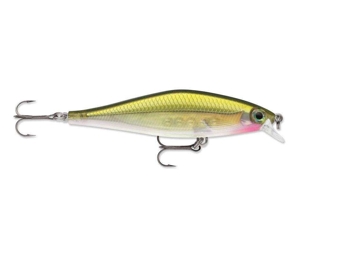 Lures Rapala SHADOW RAP SHAD SDRS09 OLIVE GREEN