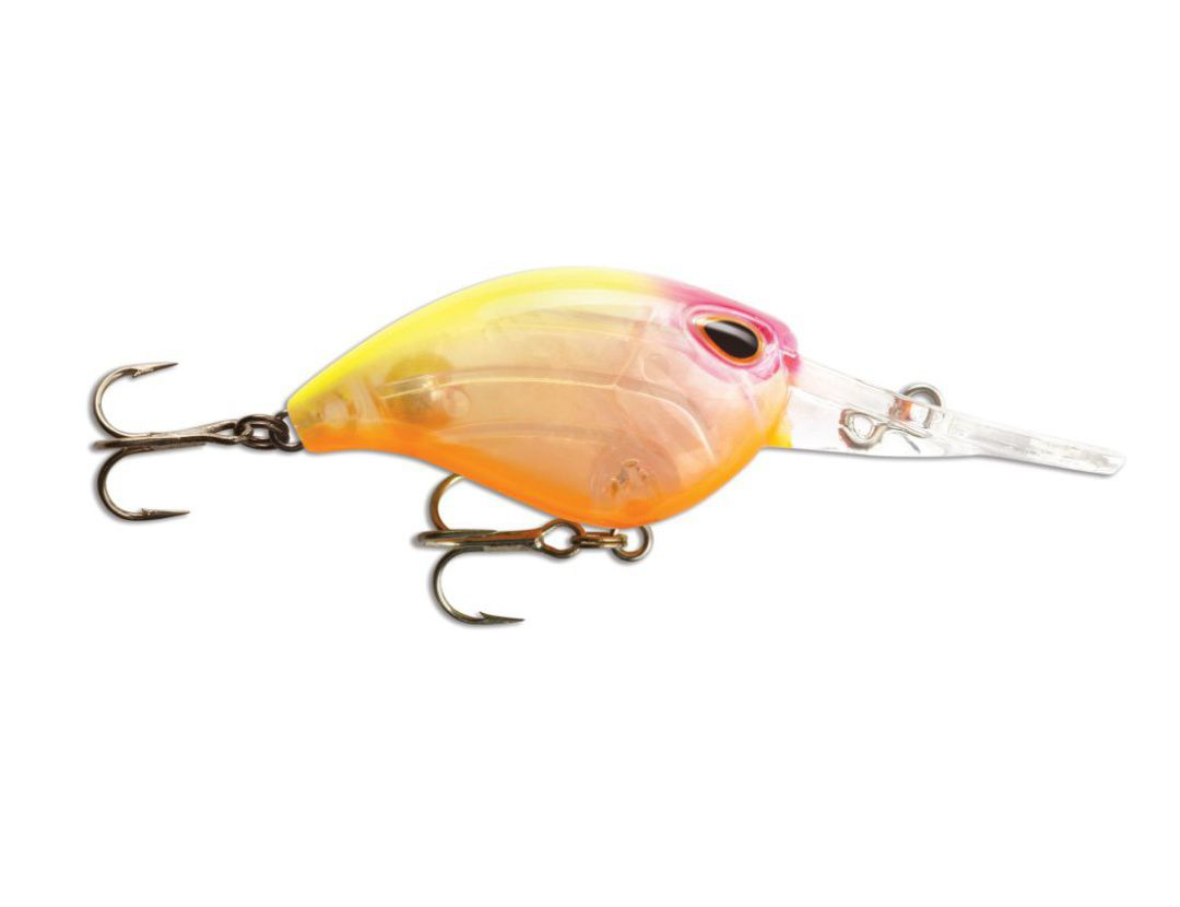 Storm  Gomoku Crank GC38F Clear Pink Head Chartreuse