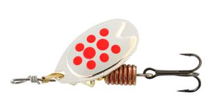 FAST ATTACK 5 G SILVER/RED DOTS