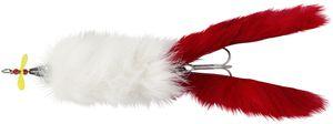 Abu Garcia  Hairy Killer 21 g White/Red Tail