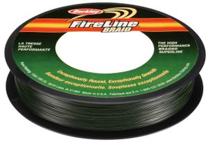 Lignes Berkley FIRELINE BRAID GREEN 270 M / 0.2 MM
