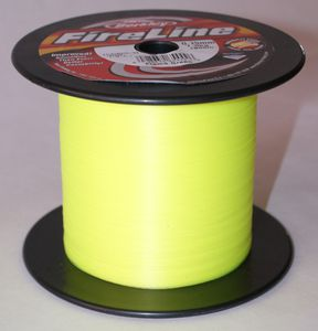 Lignes Berkley FIRELINE FLAME GREEN 1800 M / 0.39 MM