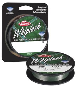 Lines Berkley WHIPLASH GREEN 300 M / 0.12 MM