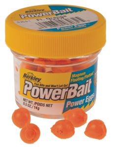 POWERBAIT SPARKLE POWER EGGS / DOUGH EGGS FLUO ORANGE
