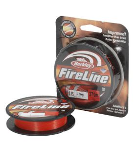 Lines Berkley FIRELINE RED 270 M / 0.17 MM