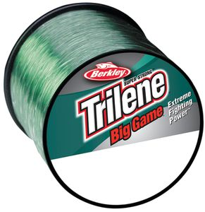 TRILENE BIG GAME GREEN 1/4 LB SPOOL 0.279 MM