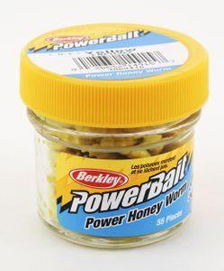 Lures Berkley POWERBAIT HONEY WORMS 2.5 CM YELLOW