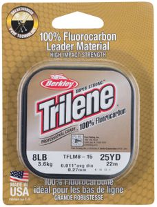 Leaders Berkley TRILENE FLUOROCARBON CLEAR 25 M / 0.25 MM