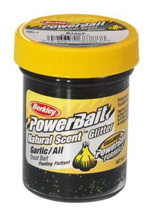 Berkley  Natural Scent TroutBait Garlic Black