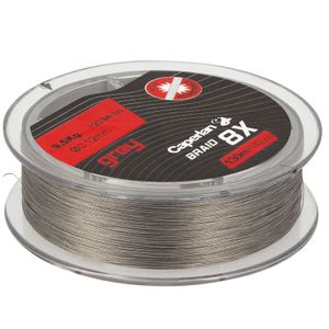 Lines Caperlan BRAID 8X GREY 130 M 12/100