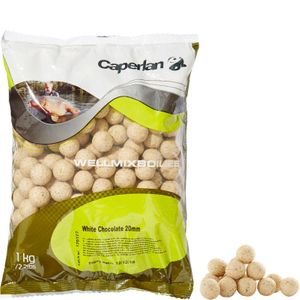 Baits & Additives Caperlan WELLMIX 20 MM CHOCOLAT BLANC