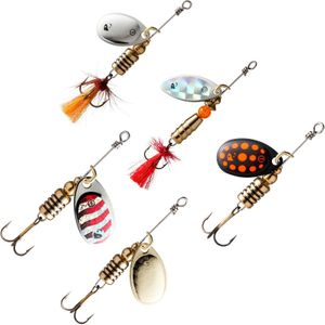 Lures Caperlan KIT CUILLERS SVARTAN NEW
