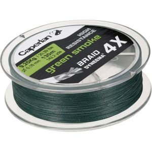 Lines Caperlan BRAID 4X GREEN SMOKE 130 M 16/100