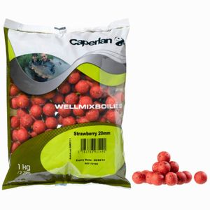 BOUILLETTES WELLMIX 1KG STRAWBERRY