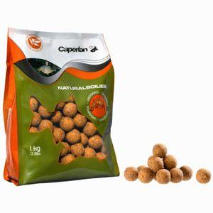 Baits & Additives Caperlan BOUILLETTE NATURAL BOILIES 1KG MUSSEL