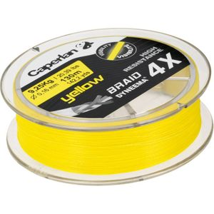 Lines Caperlan BRAID 4X YELLOW 130 M 16/100