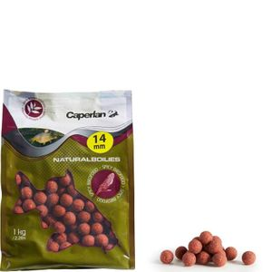 Baits & Additives Caperlan NATURAL MUSSEL 14MM 1KG SPICYBIRDFOOD 14 MM